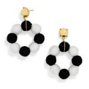 BAUBLEBAR BLACK AND WHITE EARRINGS